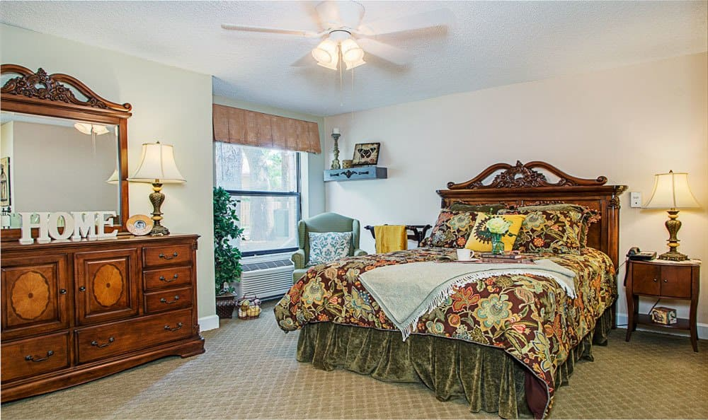 Bedroom at Grand Villa of Ormond Beach in Ormond Beach, FL