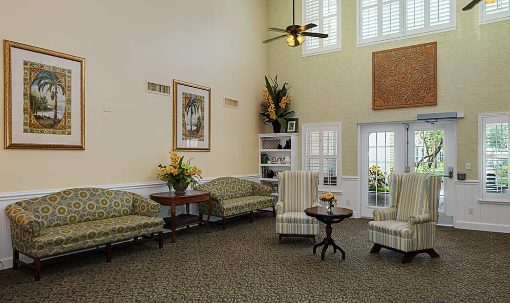 Common area at Grand Villa of Largo in Florida