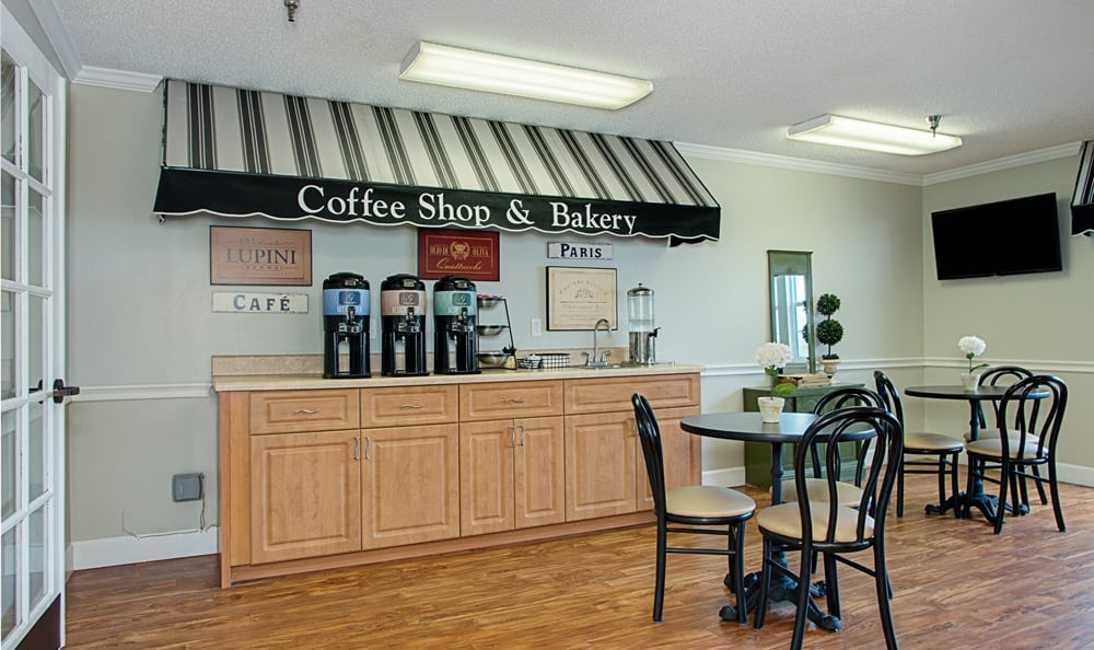 Coffee and tea at Grand Villa of Largo in Florida