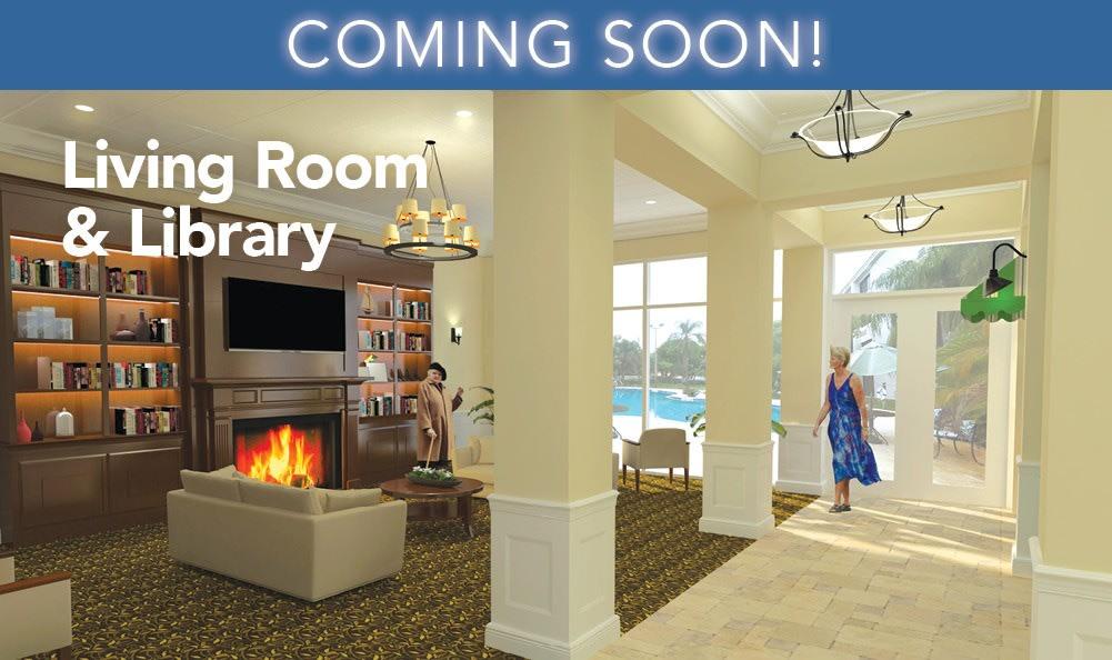 Library at Grand Villa of Boynton Beach