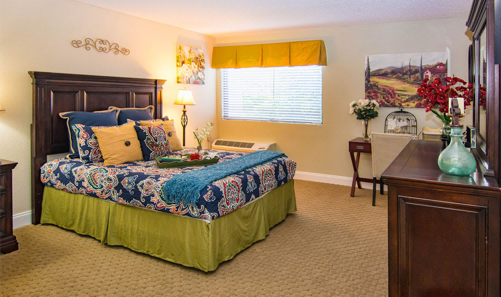 Beautiful bedroom at Grand Villa of Boynton Beach in Boynton Beach, Florida