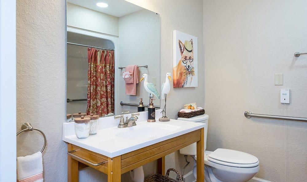 Bathroom at Grand Villa of Dunedin in Dunedin, FL
