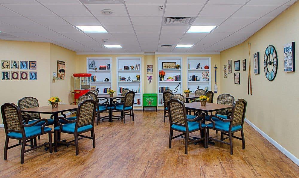 Game Room at Grand Villa of Lakeland in Lakeland, FL