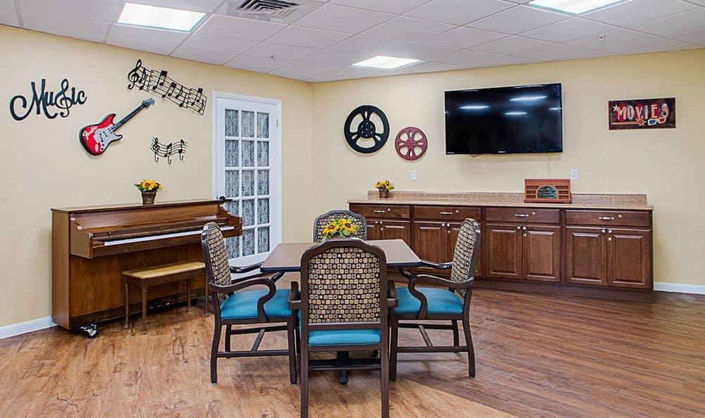 Common Room at Grand Villa of Lakeland in Lakeland, Florida