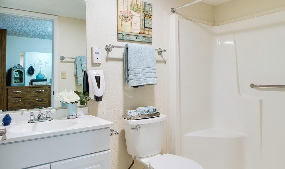 Bathroom at Grand Villa of Lakeland in Lakeland, FL