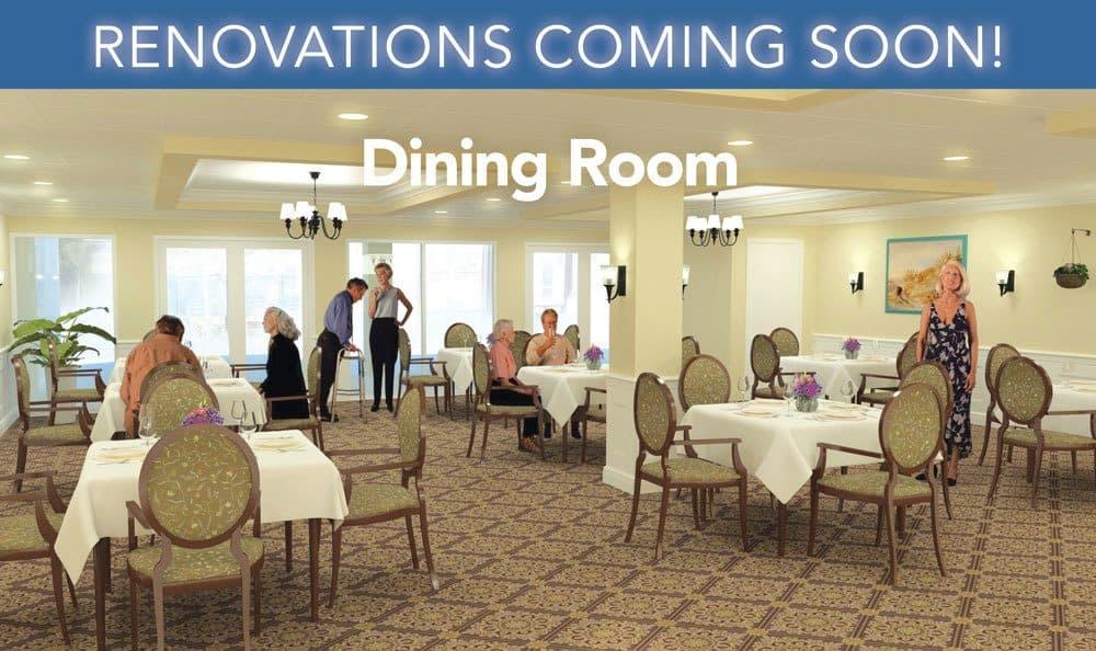 Dinning Room at Grand Villa of Deerfield Beach