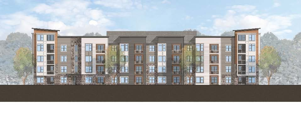 Flats At 540 has a clubhouse for residents