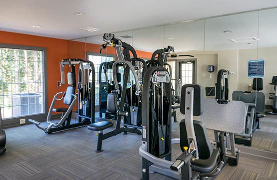 Exercise room at Cumberland Cove