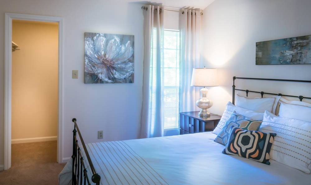Relax in your new bedroom at Cumberland Cove in Raleigh
