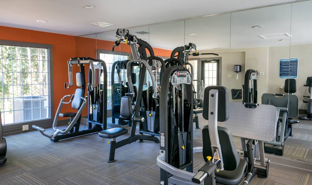 Get in some fitness at at Cumberland Cove in Raleigh, NC