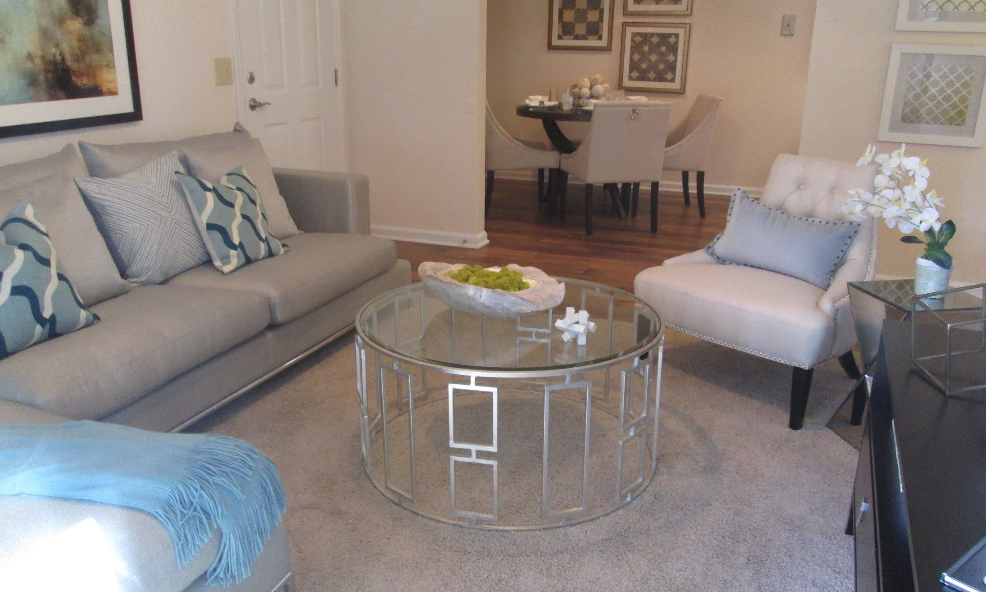 The Grove at Spring Valley apartments has very spacious living rooms