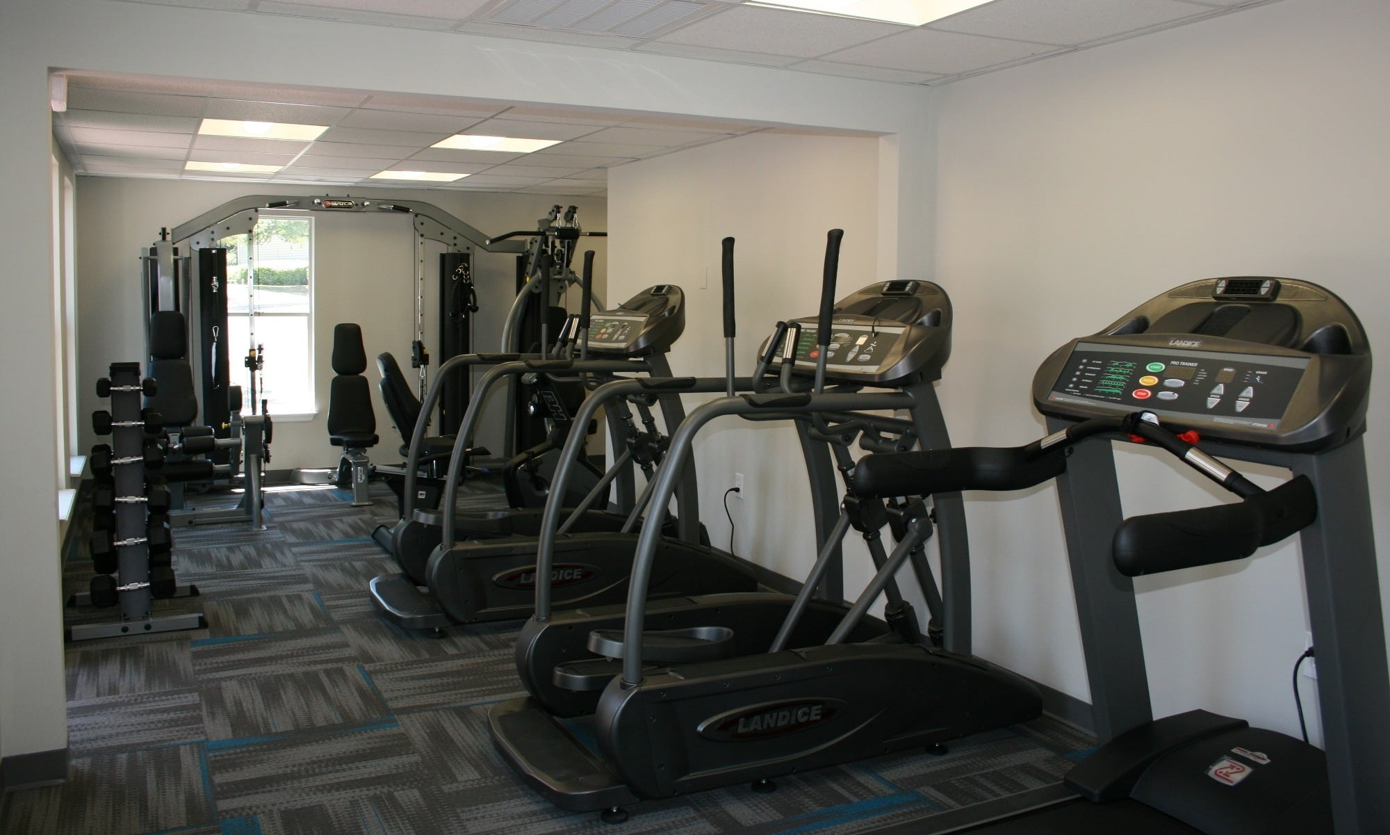 Workout facility at our apartments in Columbia, SC