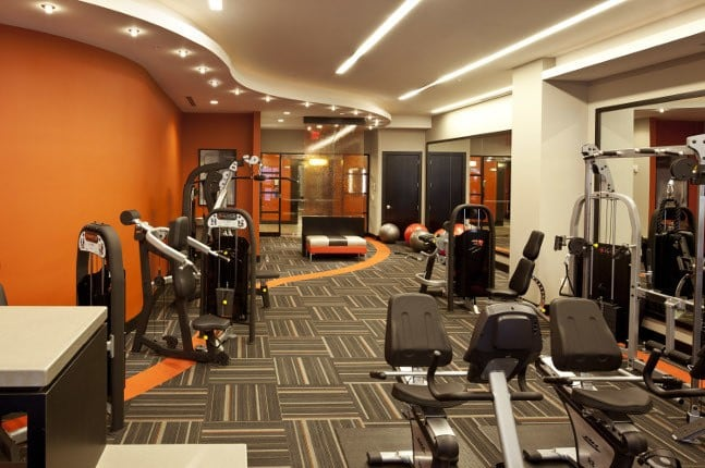 Exercise studio here at The Galaxy