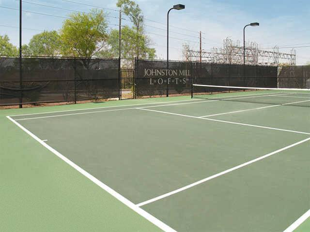 Our Columbus apartments have tennis courts