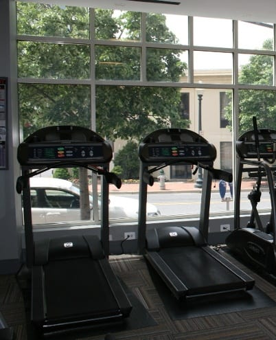 A wonderful exercise facility is just what you need for those gloomy days outside at The Gramax