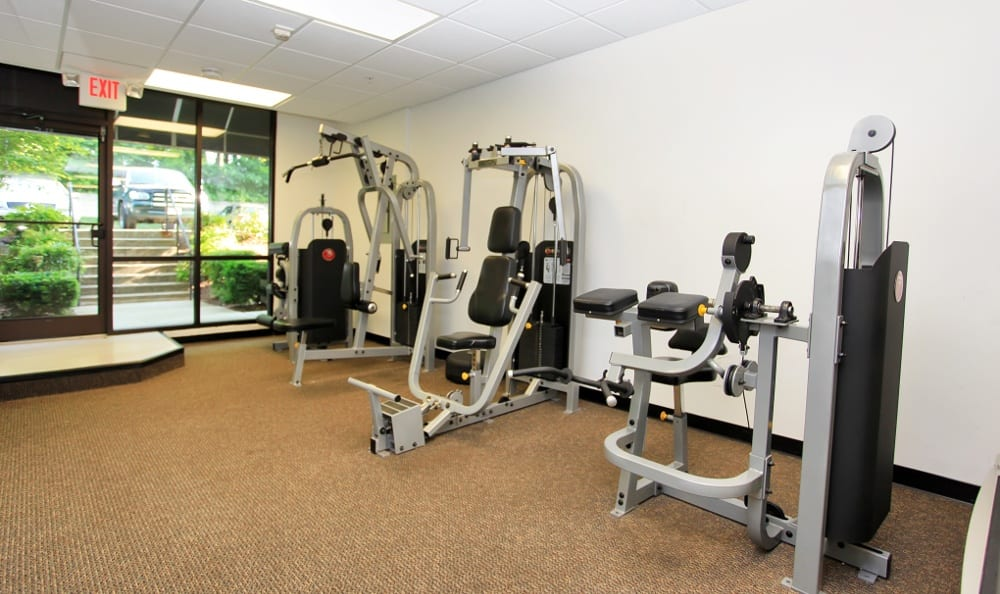 Exercising options here at Amber Commons in Gaithersburg, MD