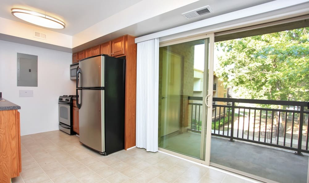 Our Gaithersburg, MD apartments have spacious kitchens
