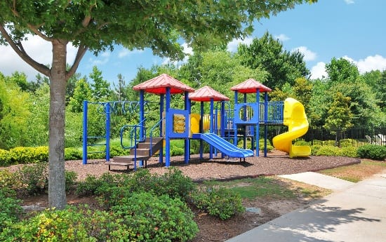 Playground at apartments in Buford