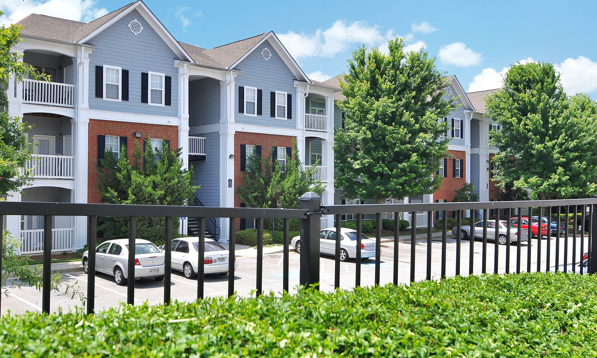 Ample parking at apartments in Buford