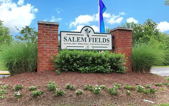 Signage at Salem Fields