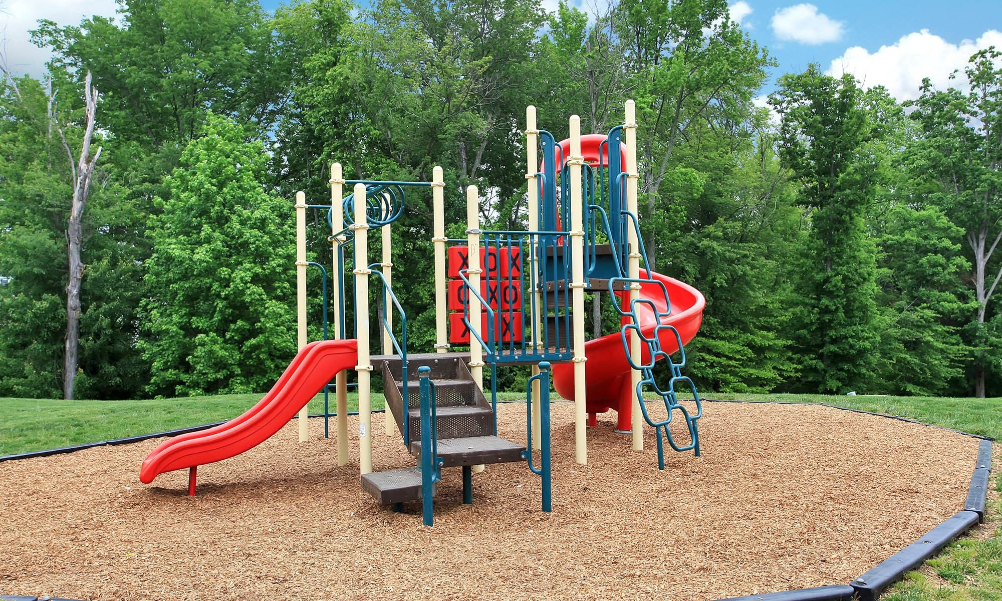 Playground at townhomes in Fredericksburg