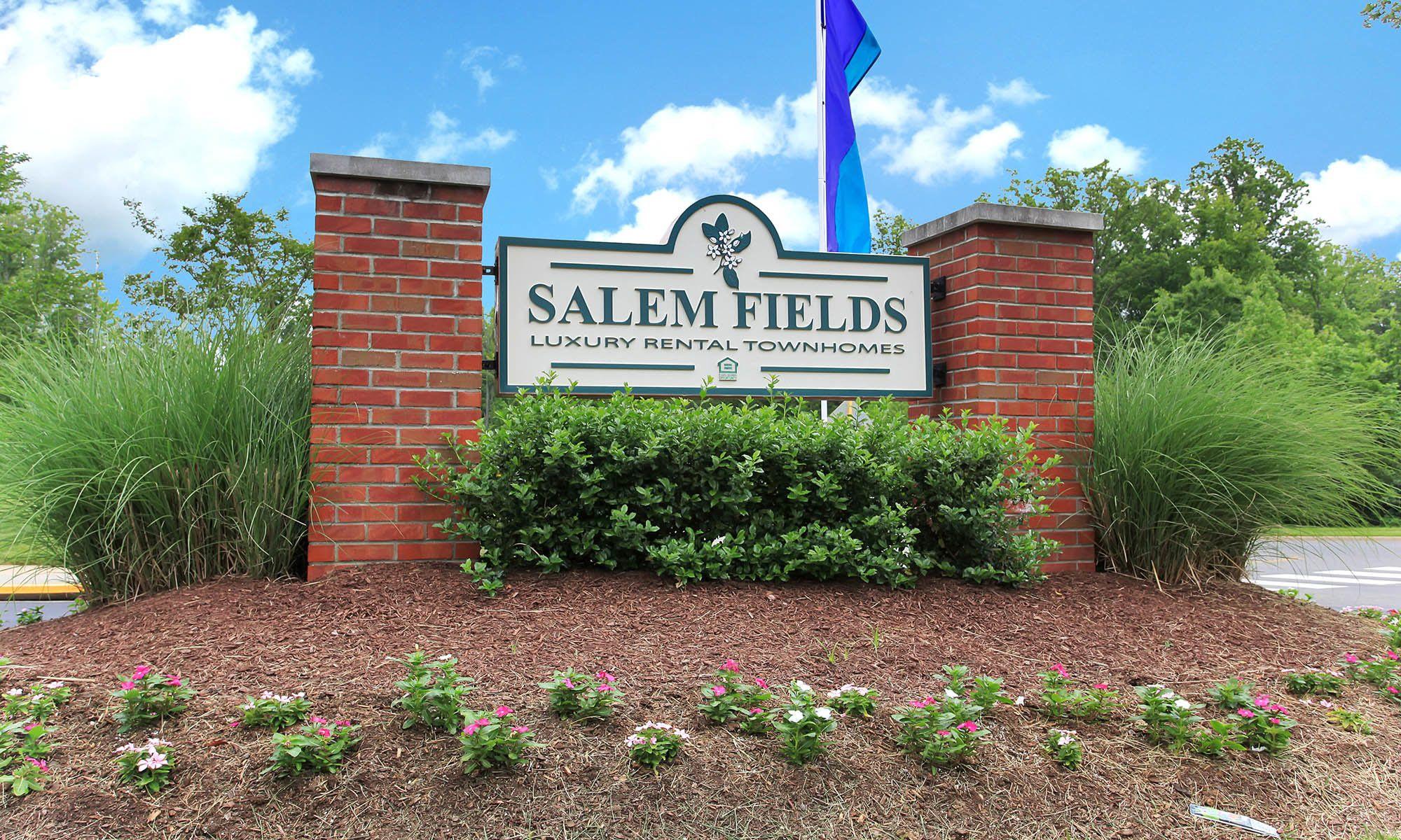 Signage at Salem Fields in Fredericksburg