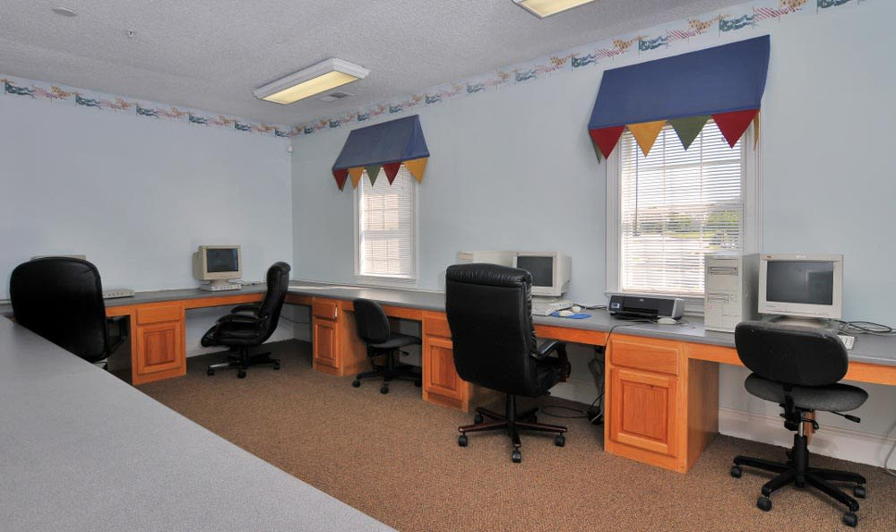 Business Center at Arbor Lake Apartments in Covington, GA.