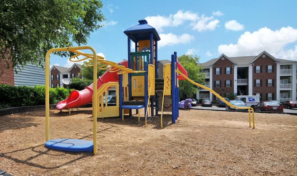 Playground at Arbor Lake Apartments in Covington, GA.