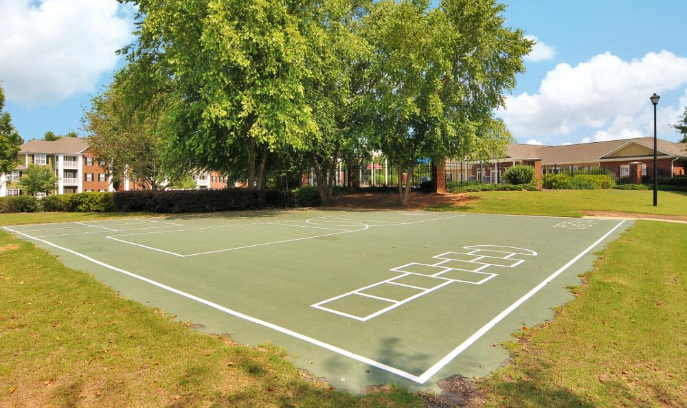 Kid friendly areas at Arbor Lake Apartments in Covington, GA.