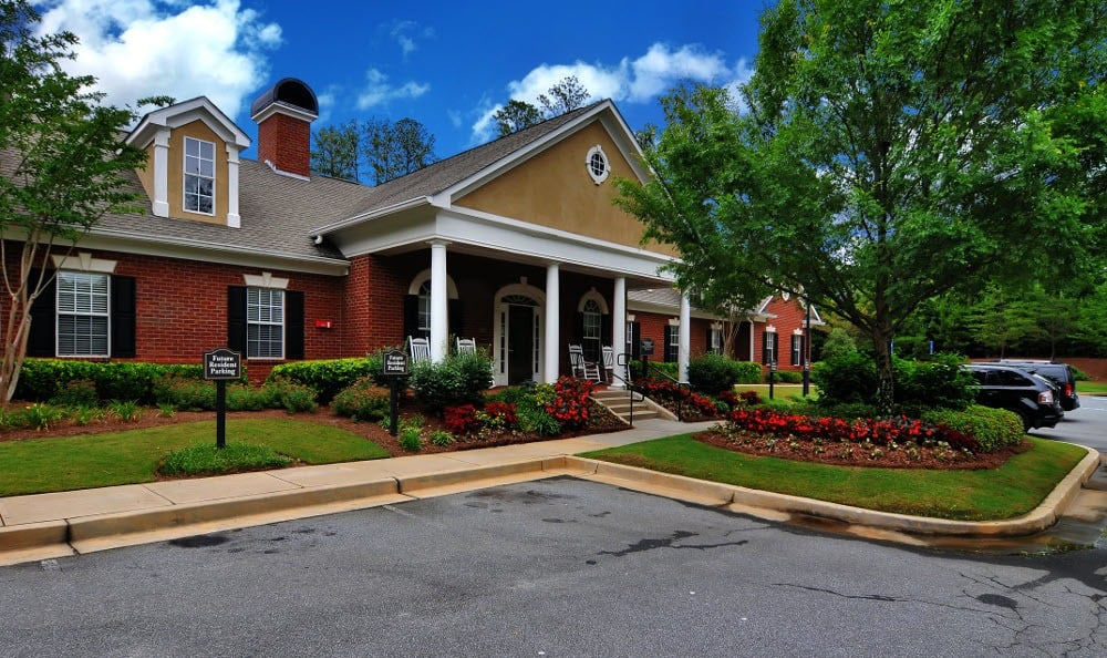 Clubhouse at Cobblestone Landing Apartments in Kennesaw, GA