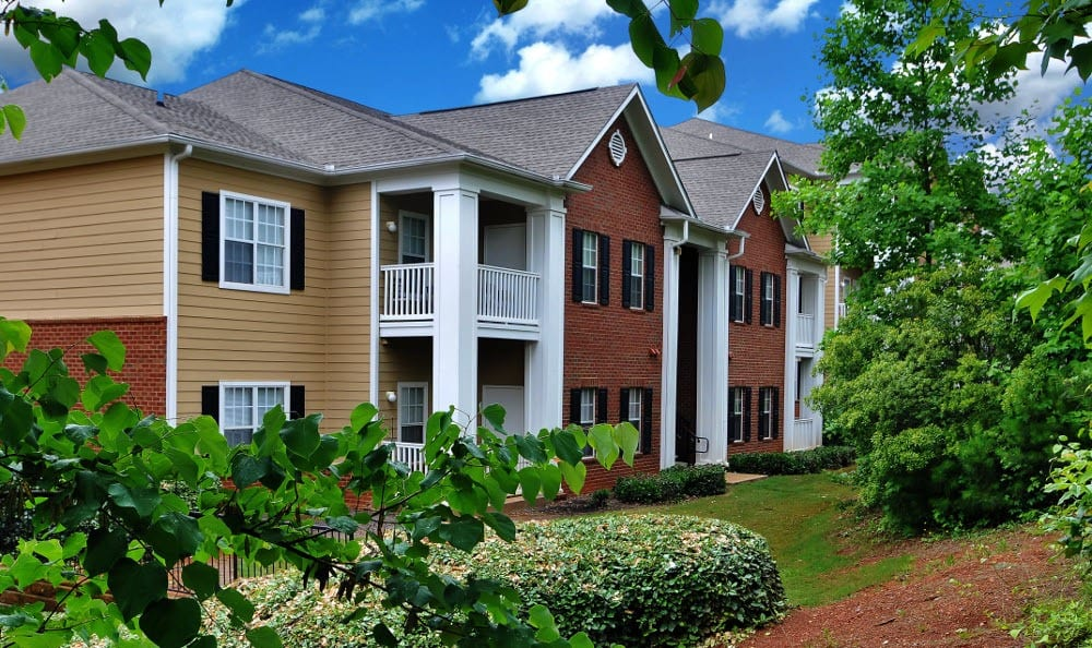 Another exterior view at Cobblestone Landing Apartments in Kennesaw, GA