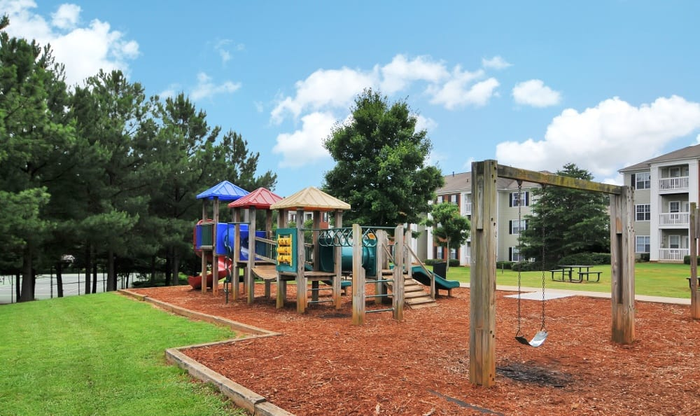Playground at our apartments in Acworth, GA