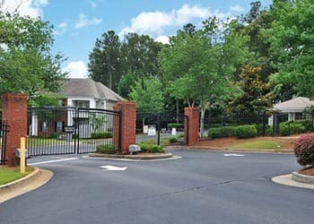 Gated Community at Cherokee Summit Apartments