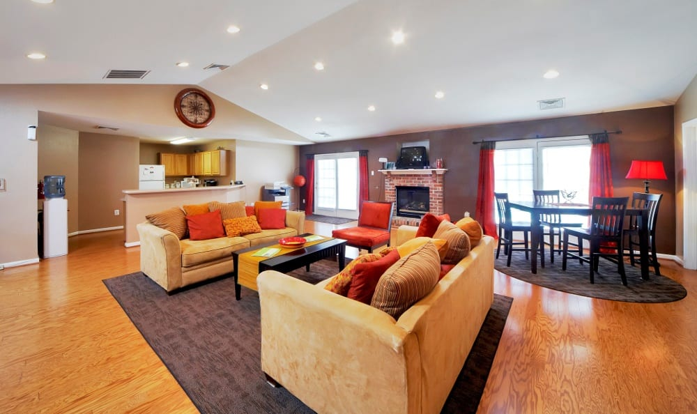 Community clubhouse at England Run North Apartments in Fredericksburg, VA