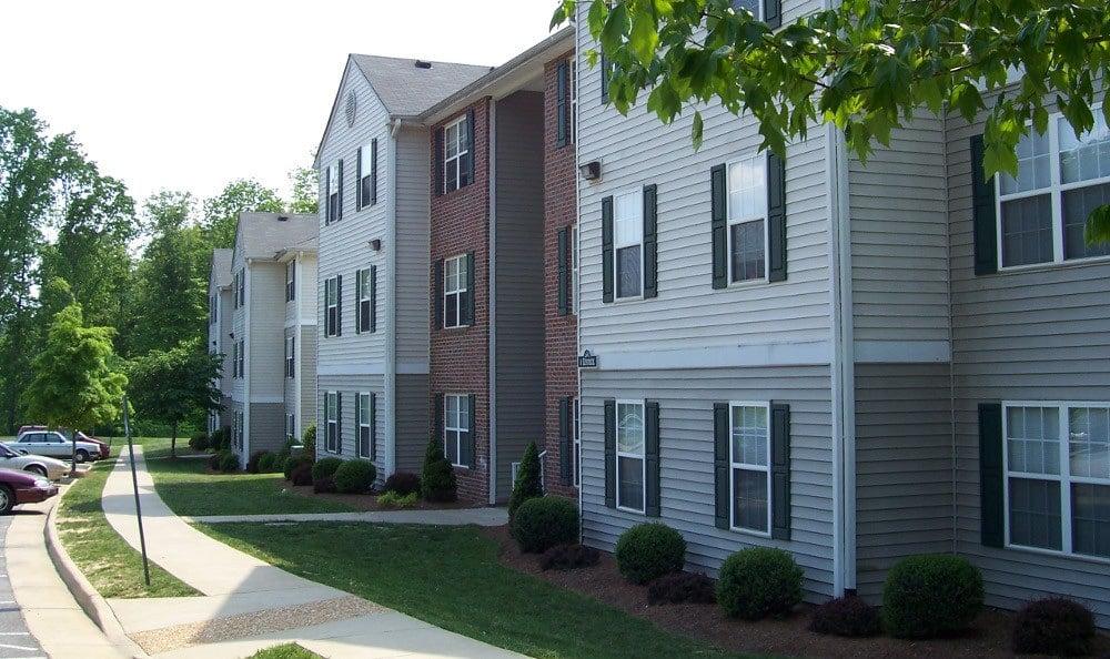 Exterior of Apartments at England Run North Apartments in Fredericksburg, VA