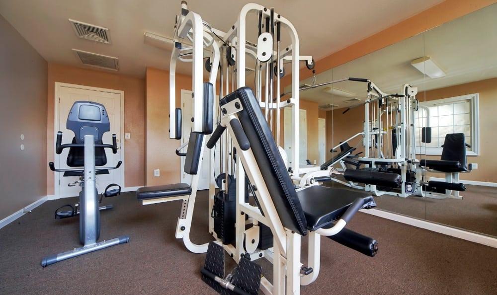 Fitness Center at England Run North Apartments in Fredericksburg, VA