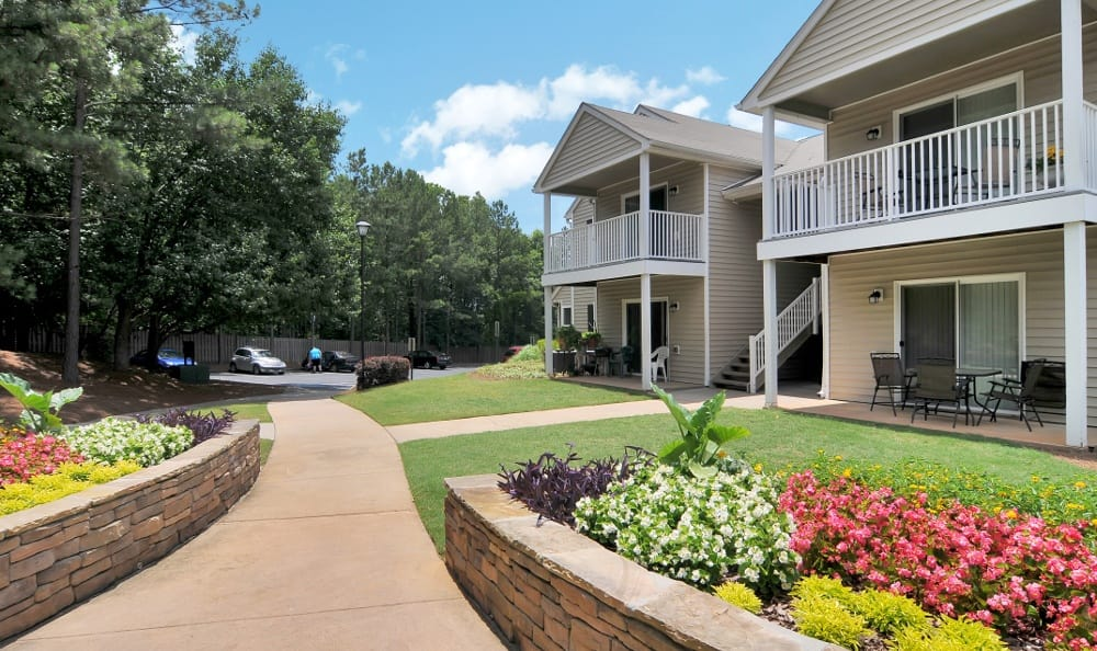 Exterior of our apartments in Stockbridge, GA