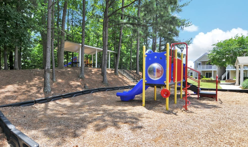 Playground at apartments in Stockbridge, GA
