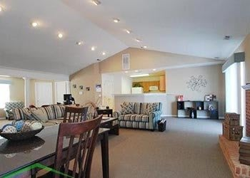 Spacious clubhouse at our apartments in Stafford, VA