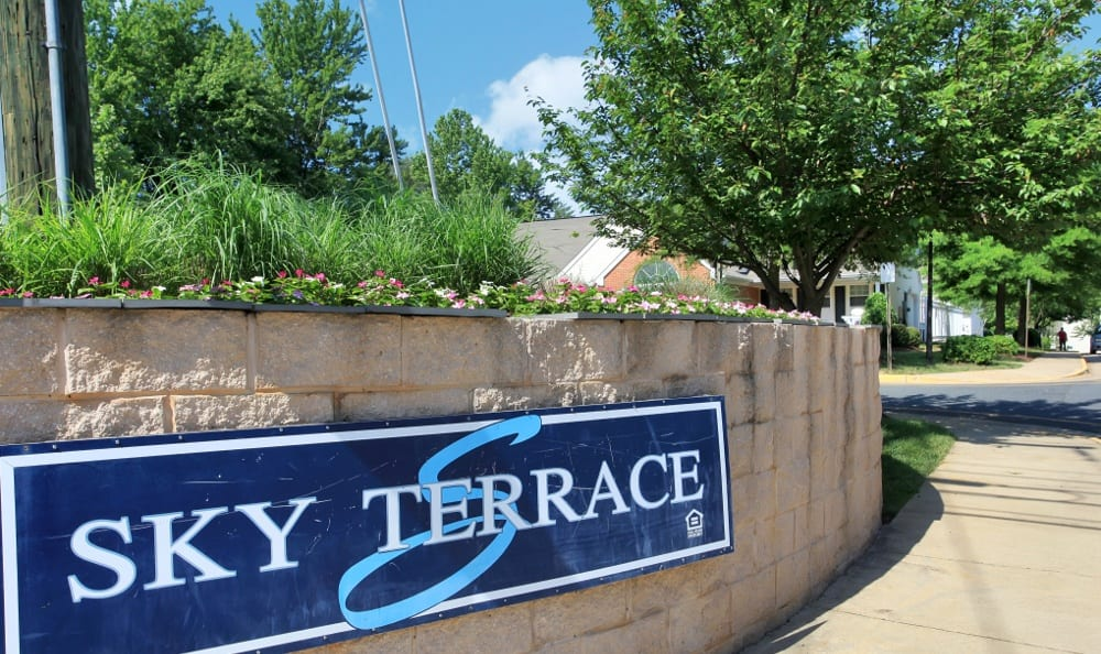 Sky Terrace Townhomes has great apartments at great prices