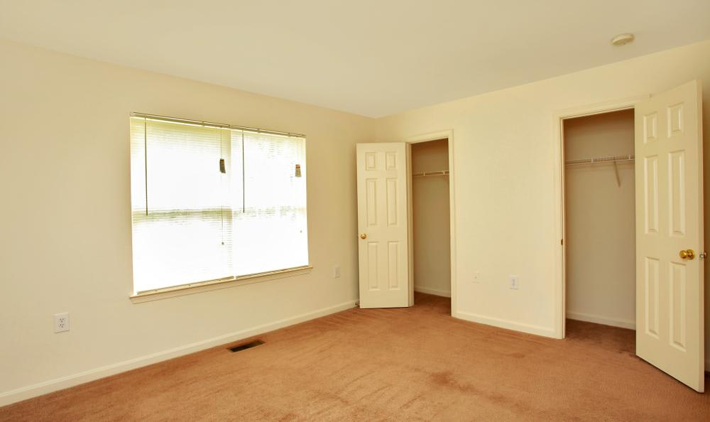 Large bedrooms here at Timber Ridge