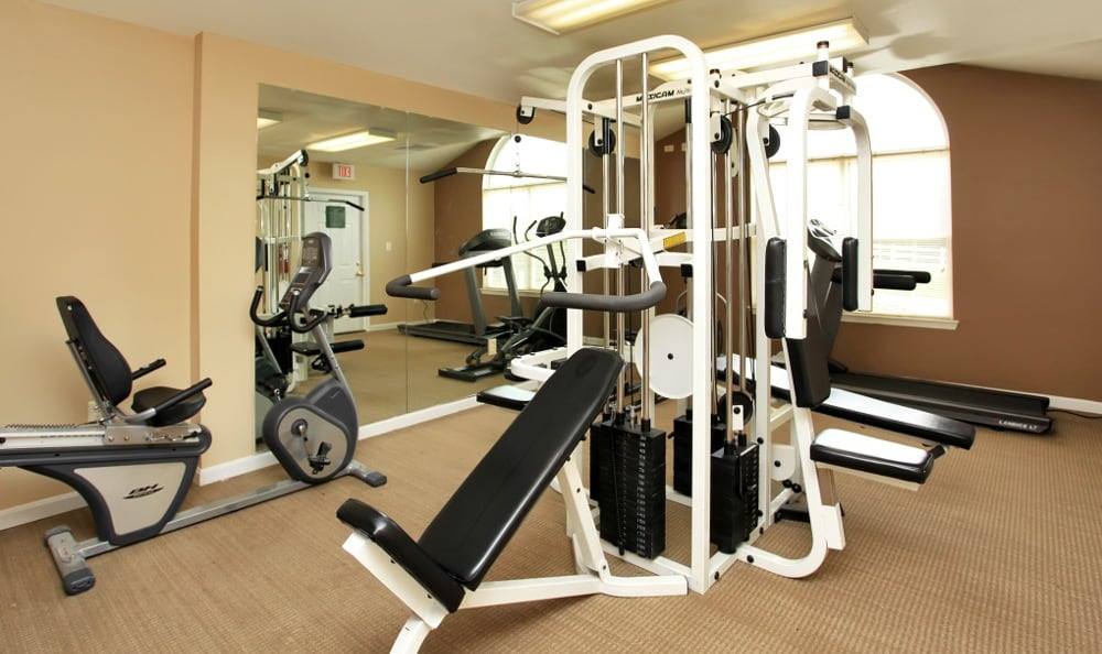 Our Fredericksburg apartments has an exercise facility