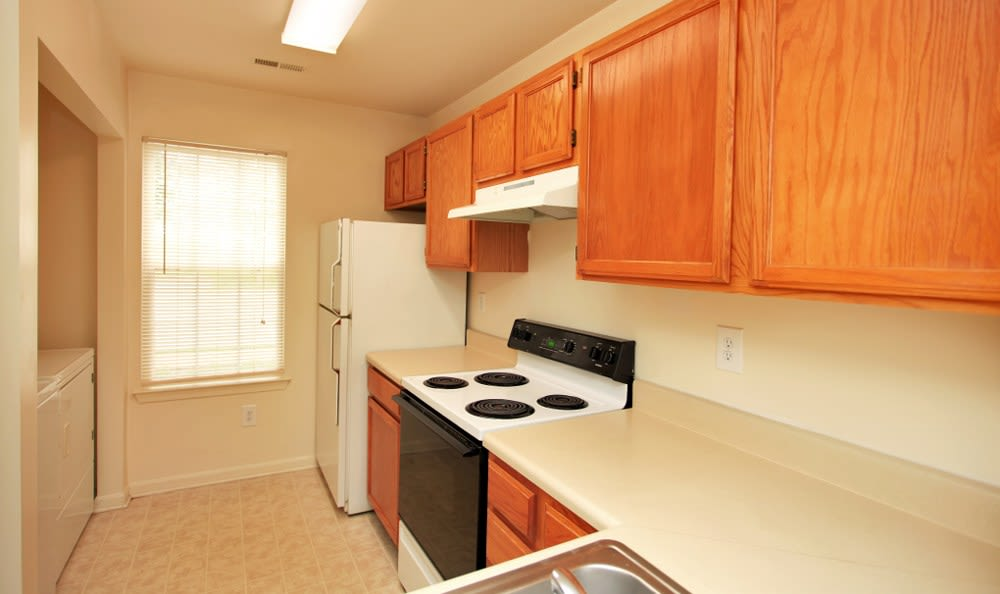 Our Fredericksburg apartments has spacious kitchens