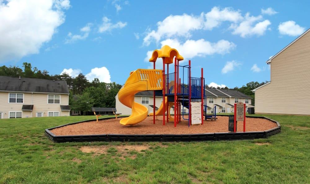Our Fredericksburg apartments has a playground