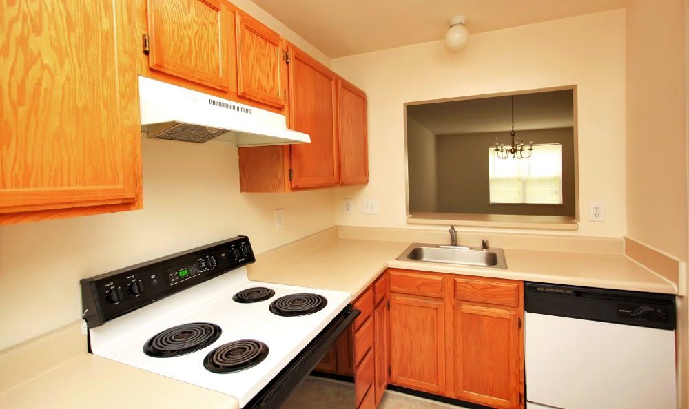 Timber Ridge has great apartment kitchens