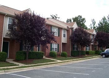 Side of our apartments in Stafford, VA