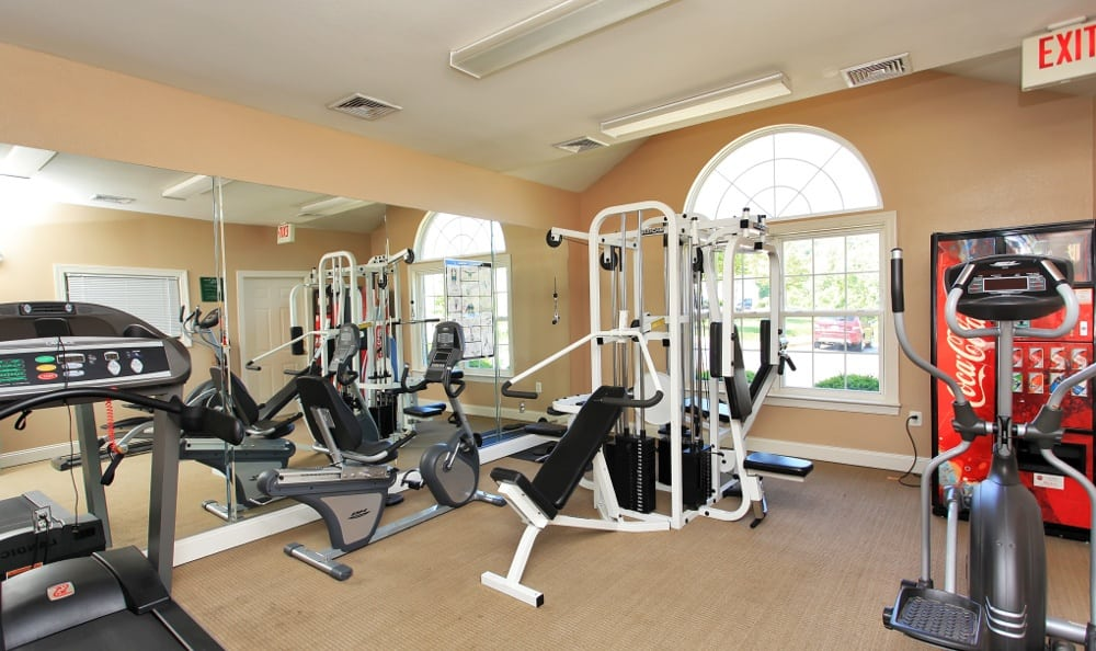 Our Fredericksburg apartments has exercise options