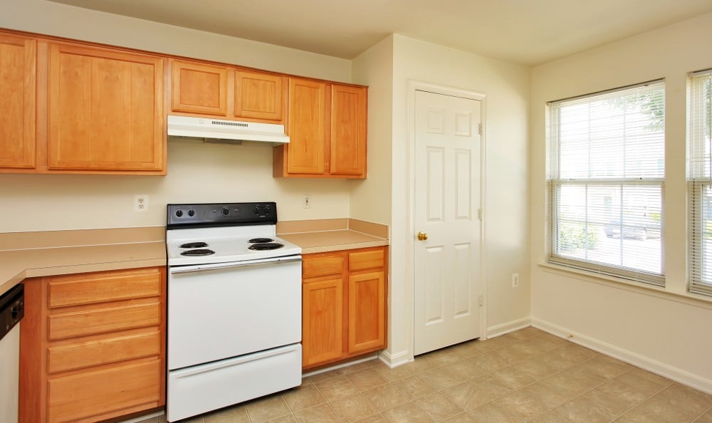 Spacious kitchens here at our Fredericksburg apartments
