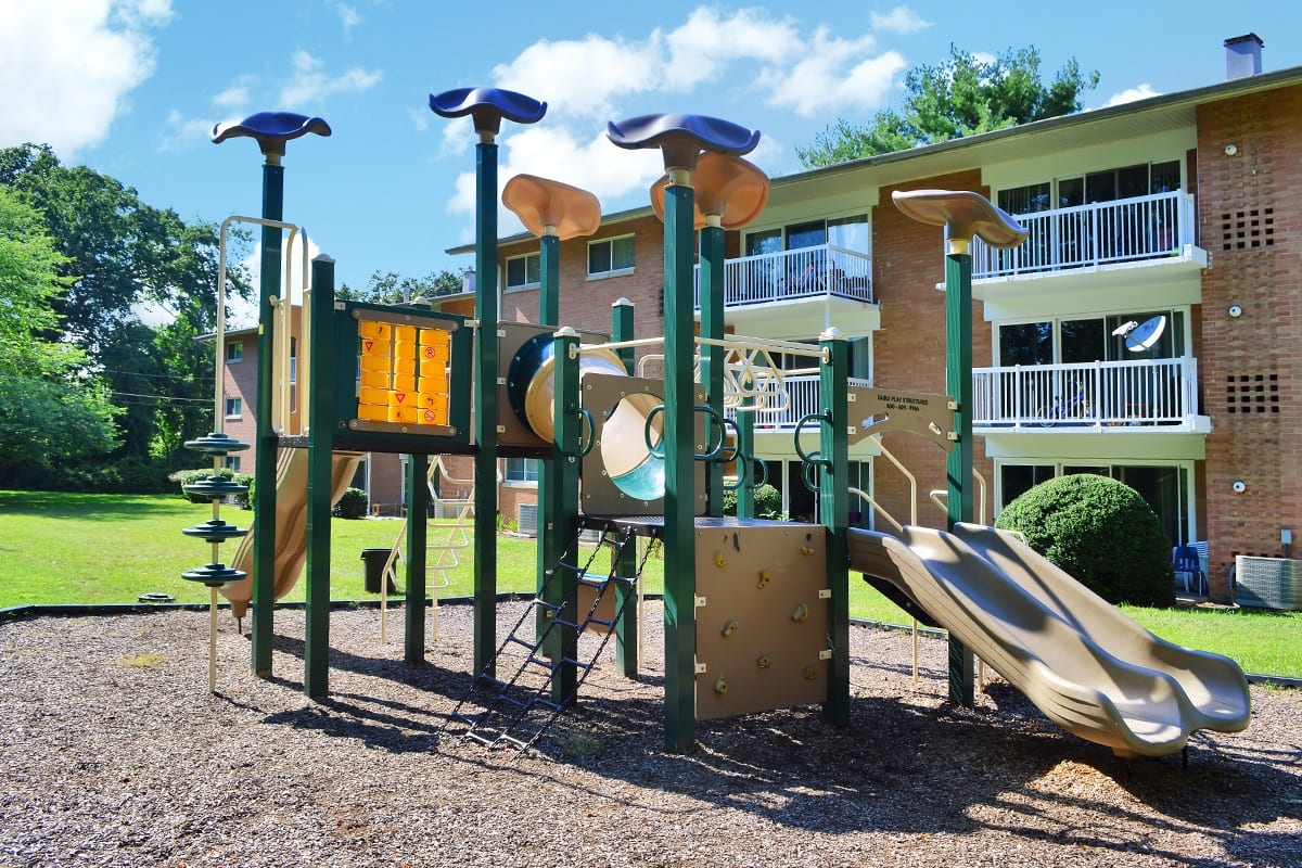 Coralain Gardens Apartments Playground in Falls Church, VA