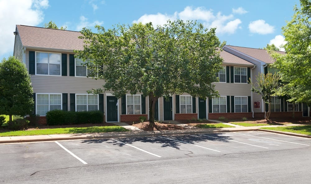 Parking is never an issue at Turnbridge Apartments in Browns Summit, NC.